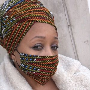 Headwrap & Mask Set